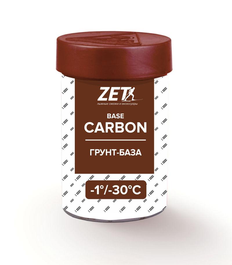 Лыжная смазка сцепления carbon (без фтора)  CARBON (Сервис-грунт) (-1/-30°C) 30 гр.