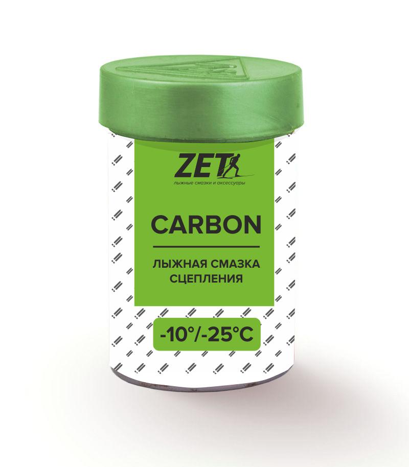 Лыжная смазка сцепления carbon (без фтора)  СARBON (-10/-25°C) 30 гр.