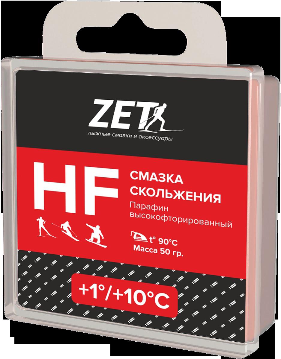 Лыжная смазка скольжения (Высокофтористая)  HF (+1/+10°С)