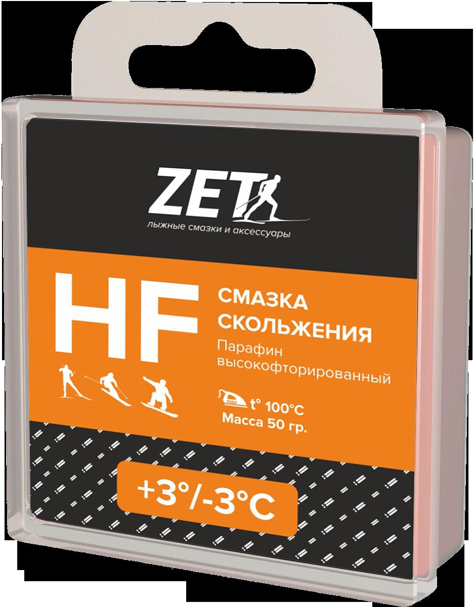 Лыжная смазка скольжения (Высокофтористая)  HF (+3/-3°С)