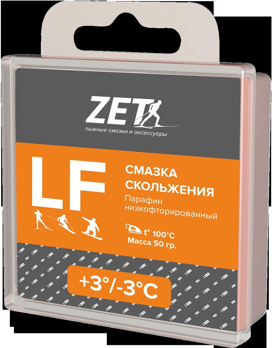 Лыжная смазка скольжения (низкофтористая)  LF (+3/-3°С)