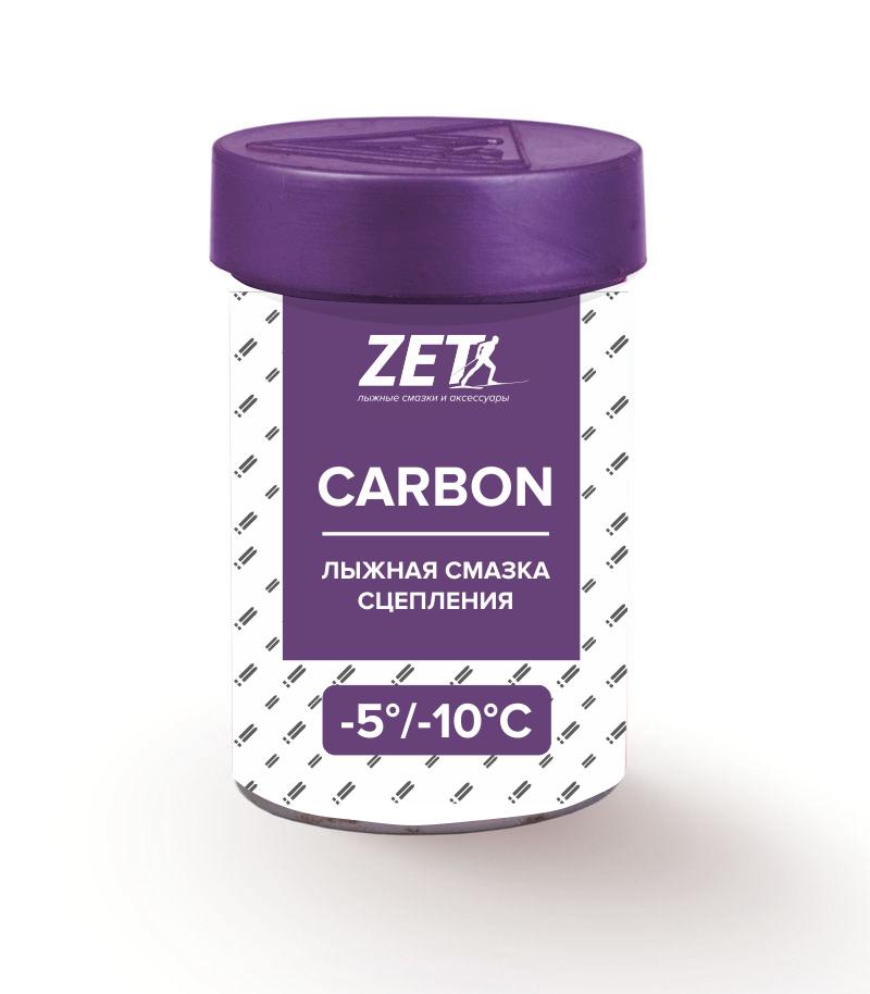 Лыжная смазка сцепления carbon (без фтора)  СARBON (-5/-10°C) 30 гр.