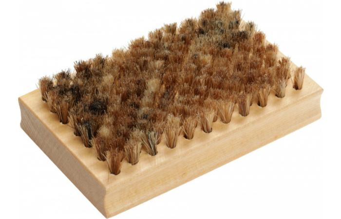Щетка Zet натуральный волос 115х75х20