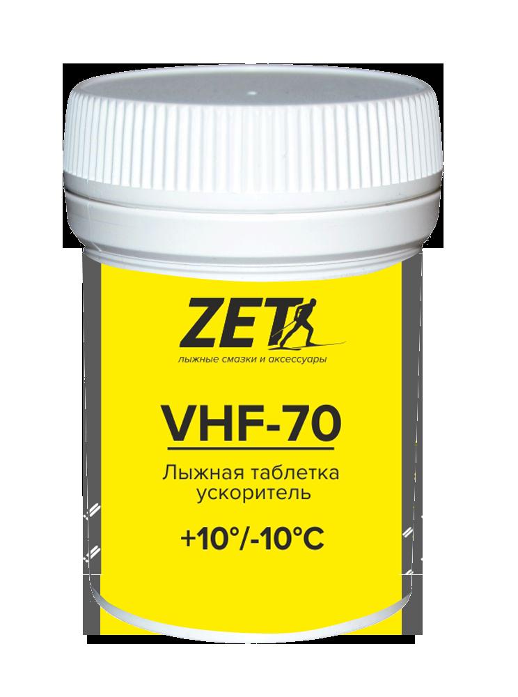 Лыжные ускорители (фторуглеродные) VFH-70 (+10/-10) 20гр.